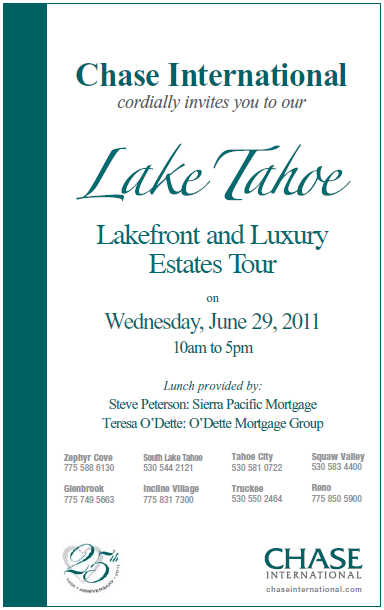 Lake Tahoe Lakefront & Luxury Estates Tour