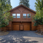 Front View of Tahoe Cabin on Woods Blvd