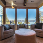 Sitting room with a beautiful view of Lake Tahoe